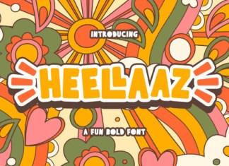Heellaaz Font