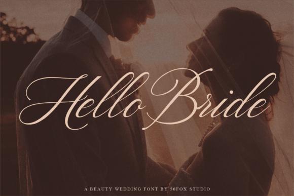 Hello Bride Font