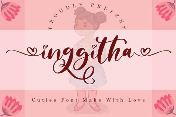Inggitha Font