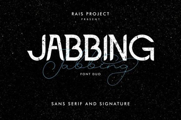 Jabbing Font