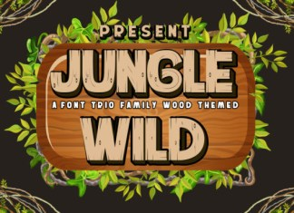Jungle Wild Font