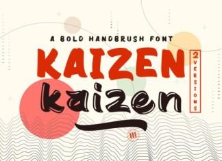 Kaizen Font