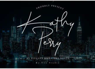 Kathy Perry Font