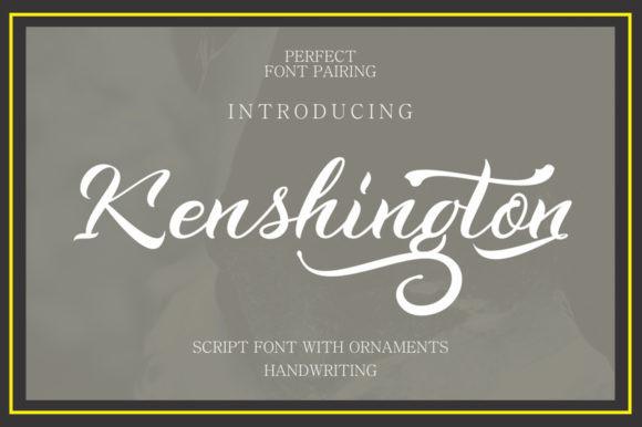 Kenshington Font