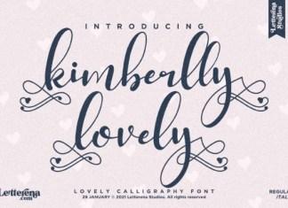 Kimberlly Lovely Font