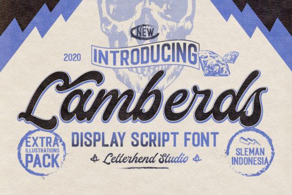 Lamberds Font