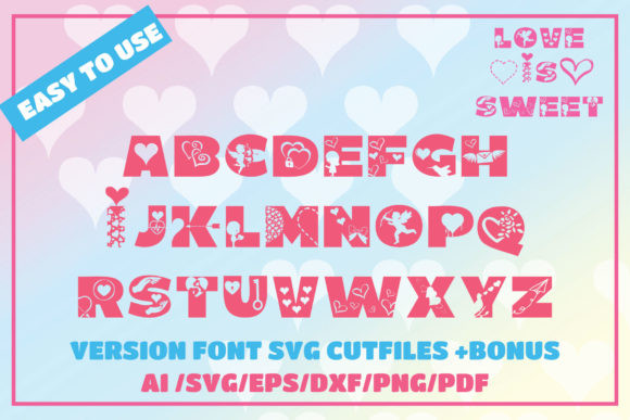 Love is Sweet Font