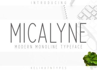 Micalyne Font