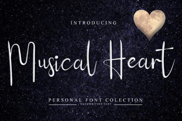 Musical Heart Font