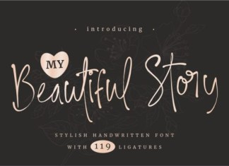 My Beautiful Story Font