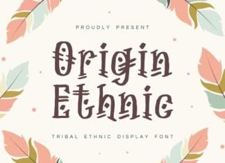 Origin Ethnic Font