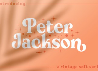 Peter Jackson Font