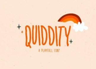 Quiddity Font