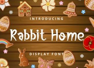 Rabbit Home Font