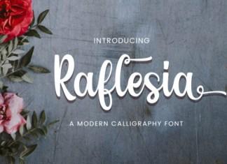 Raflesia Font