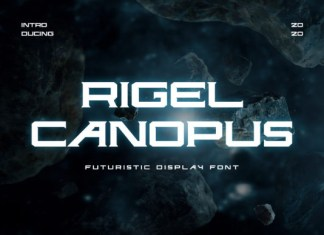 Rigel Canopus Font
