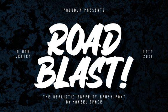 Road Blast! Font