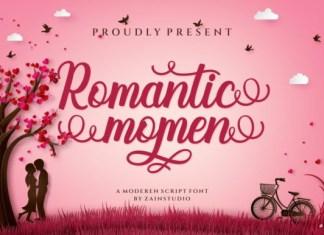 Romantic Momen Font