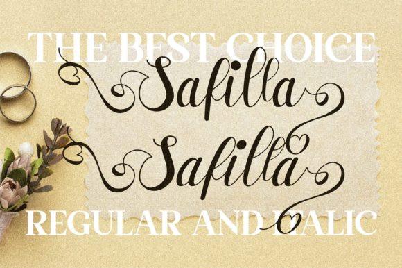 Safilla Font