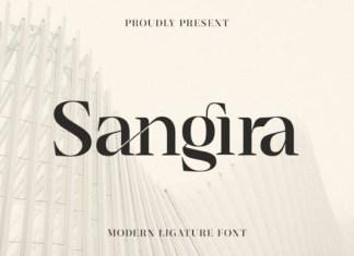 Sangira Font