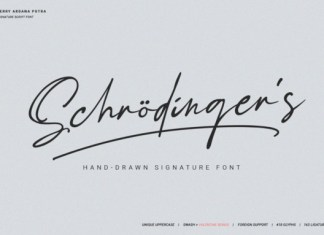 Schrodinger's Font