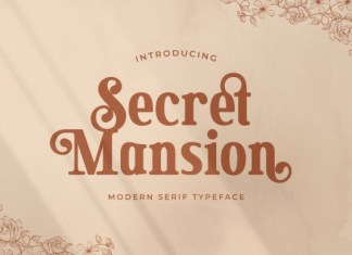 Secret Mansion Font
