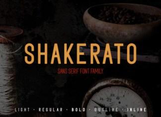 Shakerato Font