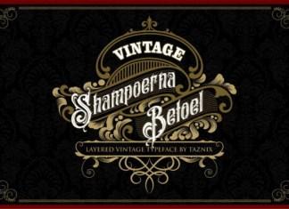 Shampoerna Betoel Font