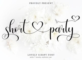 Short Party Font