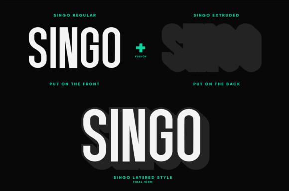 Singo Font