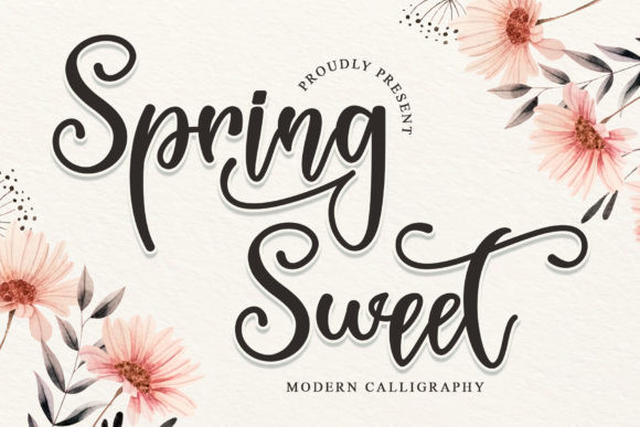Spring Sweet Font