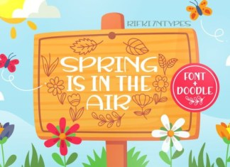 Spring is in the Air Font