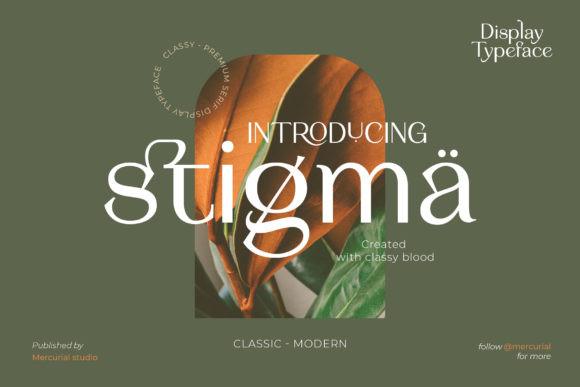 Stigma Font