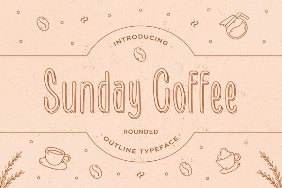 Sunday Coffee Font