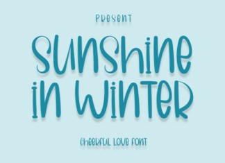 Sunshine in Winter Font