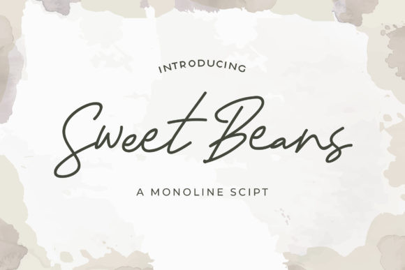 Sweat Beans Font