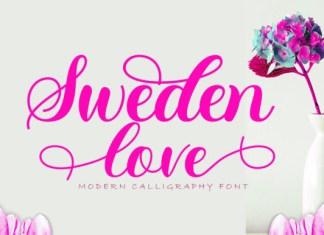Sweden Love Font