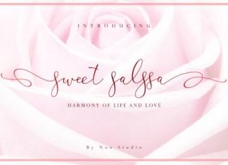 Sweet Salssa Font