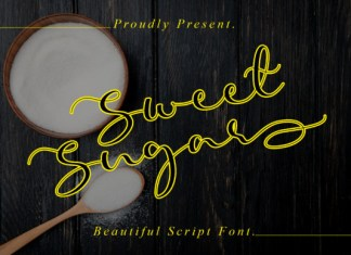 Sweet Sugar Font