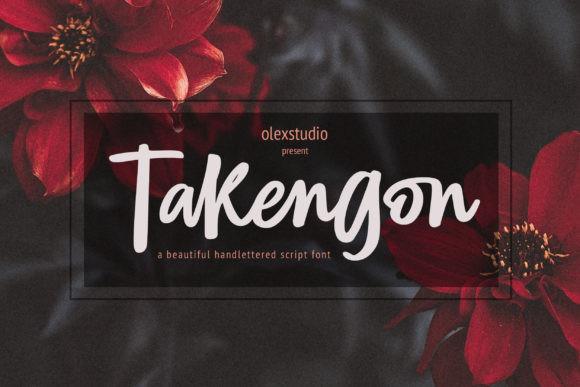 TAKENGON Font