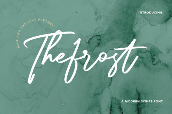 Thefrost Font