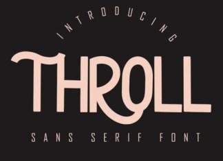Throll Font