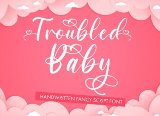 Troubled Baby Font