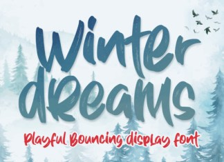 Winter Dreams Font
