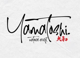 Yamatoshi Font