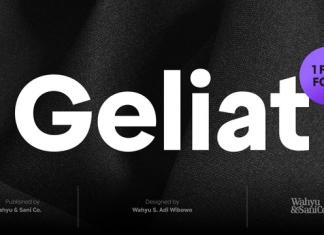 Geliat Font