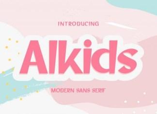 Alkids Font