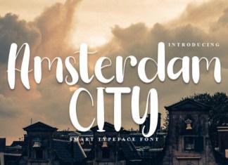 Amsterdam City Font