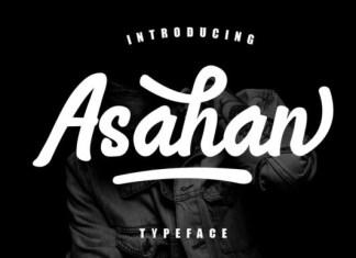 Asahan Font