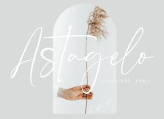 Astagelo Font